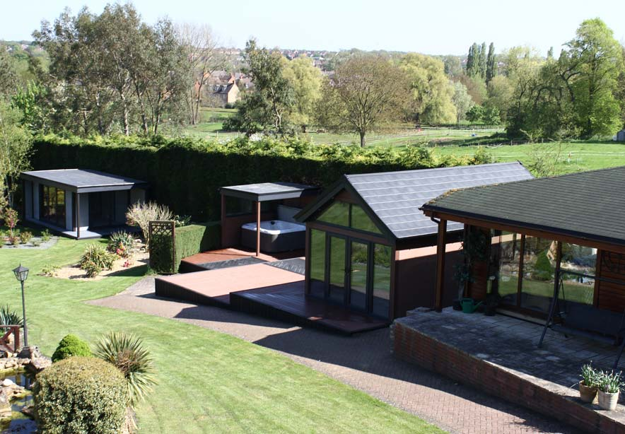 Composite Garden Buildings Showroom