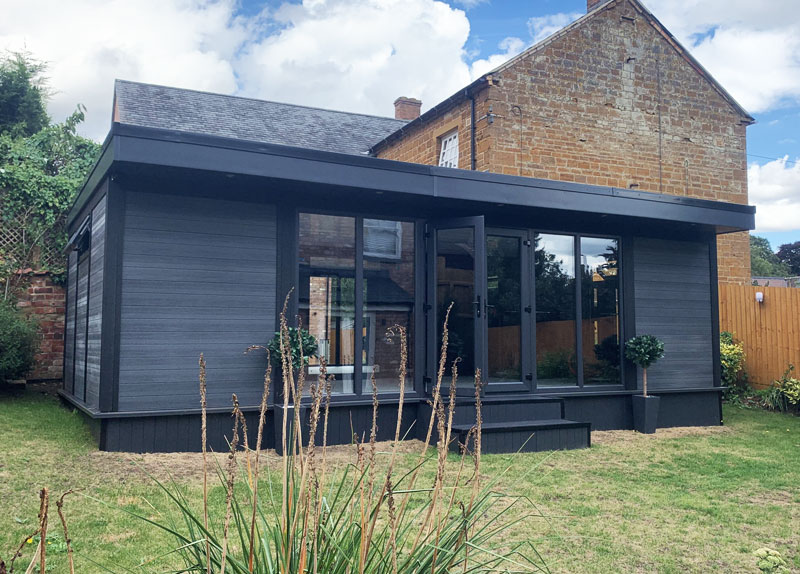 Low Maintenance Composite Garden Buildings