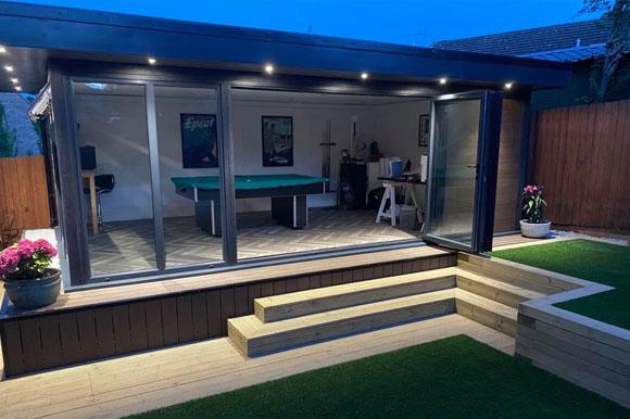 Relaxing Garden Studio Retreats Northampton