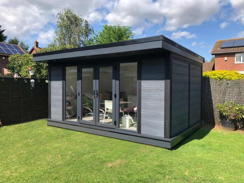 Composite Garden Room Beauticians In Northampton Outside Shot