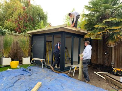 Garden Room In Northampton, Nearing Completion